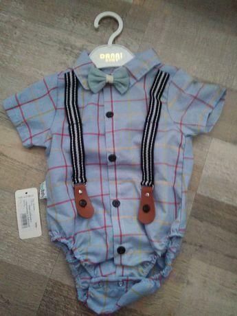 Боди - рубашка для мальчика (новый)