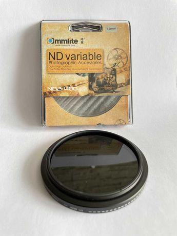 Zestaw filtrów fotograficznych 72 mm