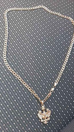 Złoty łańcuszek  Orzeł Piłsudczyk próba 585