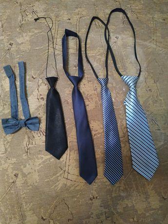 Комплект детских галстуков