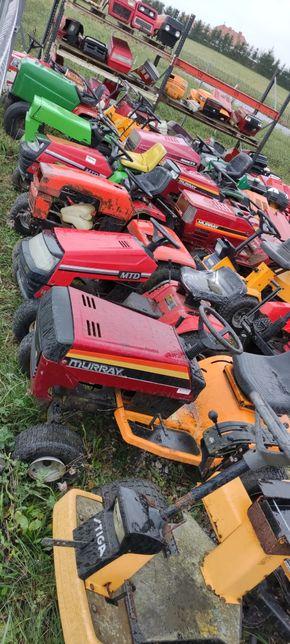 Traktorki ogrodnicze w całości lub z przeznaczeniem na CZĘŚCI