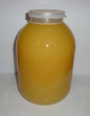 Мед різнотрав'я (переважно соняшник, фацелія)