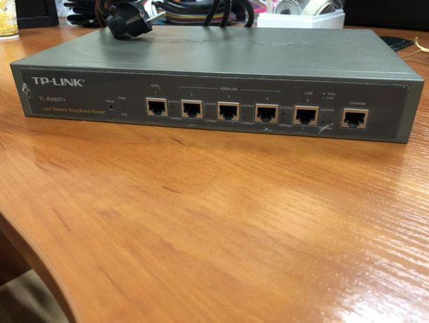 Роутер, маршрутизатор, Мульти-WAN, TP-Link TL-R480T+