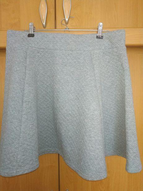 Тепленькая юбочка H&M размер 46-48