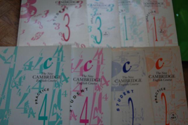 Учебники The New Cambridge English Course (1-4)