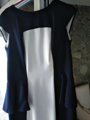 Vestido cerimônia azul 42/XL