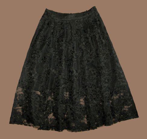 spódnica pięknie zdobiona H&M 36