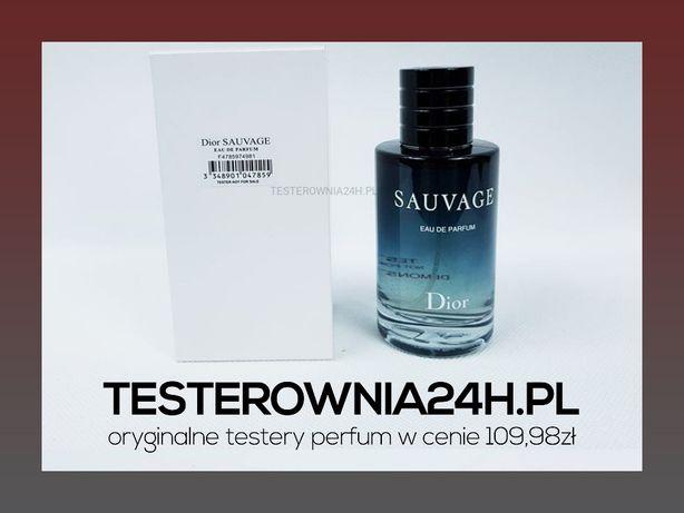 Christian Dior Sauvage Eau De Parfum 100ML EDP   NOWY TESTER