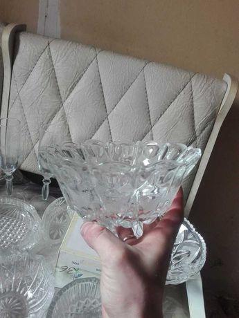 хрусталь стекло ваза салатница
