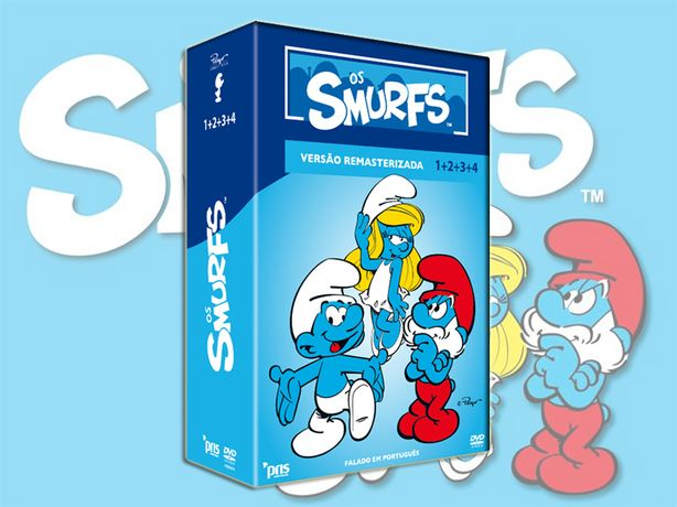 Os Smurfs 1 + 2 + 3 + 4 – Versão Remasterizada (volume inédito)