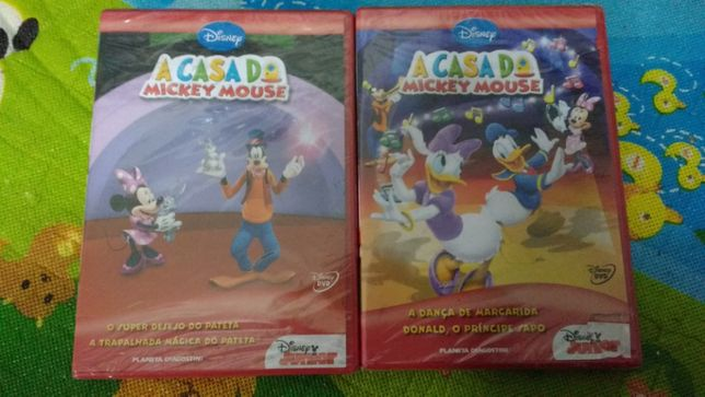 DVD + livro Disney