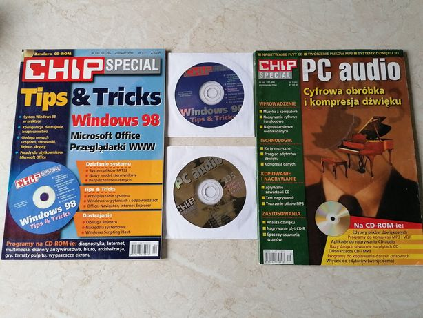Magazyn komputerowy Chip Special + CD