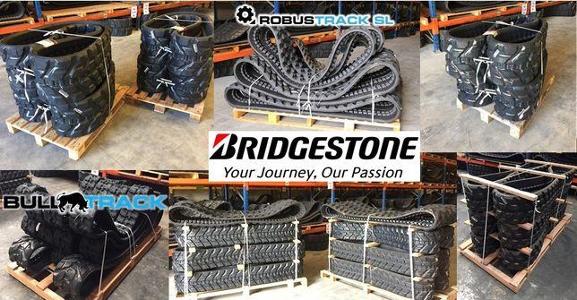 Rastos de borracha marca Bridgestone®