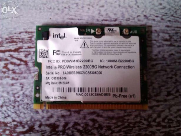 Placa Rede Wireless para portátil