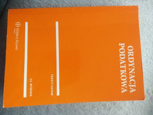 Ordynacja podatkowa teksty ustaw 23 wydanie Woltera kluwer