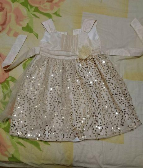Праздничное детское платье на 2-3 года