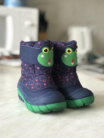 Зимові чоботи для хлопчика 20 розмір