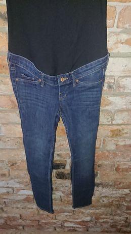 Jeansowe spodnie h&m 36