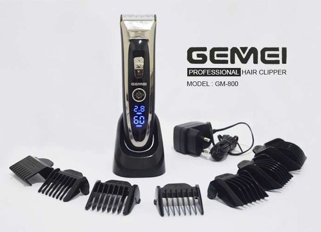 Профессиональная керамическая машинка для стрижки Gemei GM 800