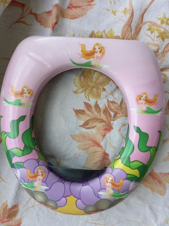 Детское сиденья для унитаза. Горшок