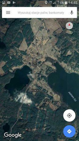 Działka rekreacyjna Ruś 14-300 Morąg Ostroda las jezioro