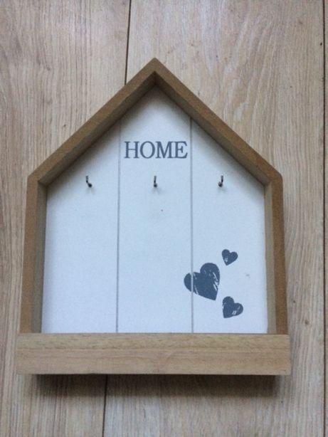 Wieszak półka skrzynka na klucze home