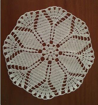 Naperon Redondo - Croché (M.14)