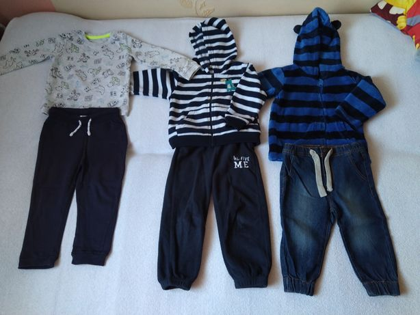 3 komplety ubrań dla chłopca rozm. 80