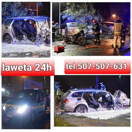 Pomoc drogowa 24h od 100zl Odpalanie samochodu,Mechanik Laweta W