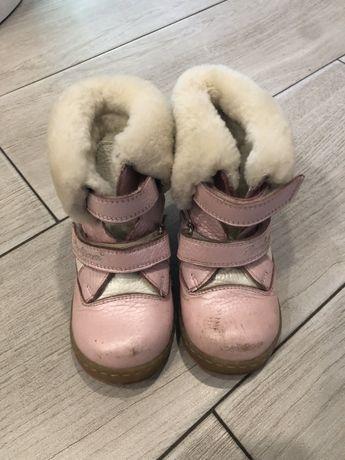 Зимние сапоги , ботинки perlina 23 кожаные