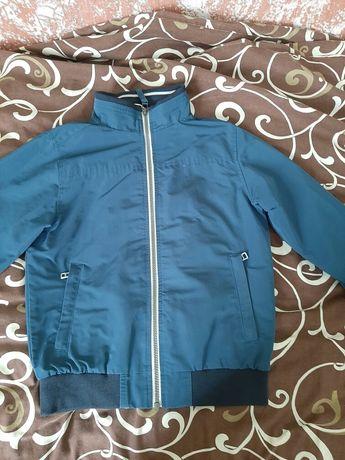 Куртка ветровка бомбер р.116-128
