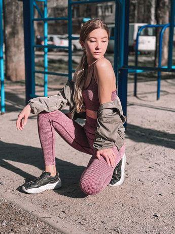 Женский спортивный костюм. Тренд 2021 для фитнеса.