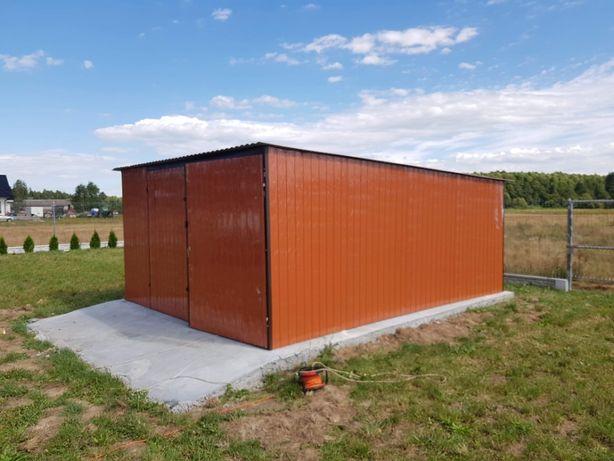 blaszak garaż budowa schowek garaż blaszany konstrukcja stalowa 2x3
