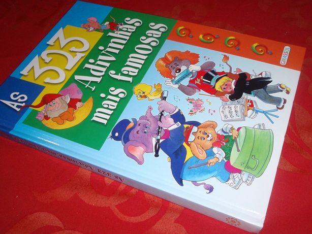 Livro infantil de adivinhas