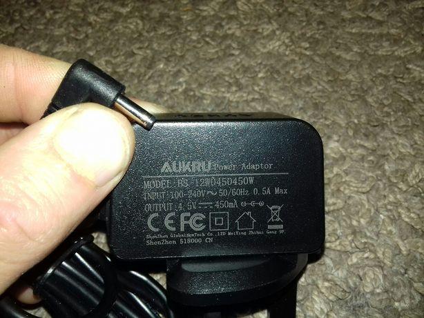 Блок питания адаптер зарядное AUKRU 4.5V 450mA BS12W0450450W для бритв