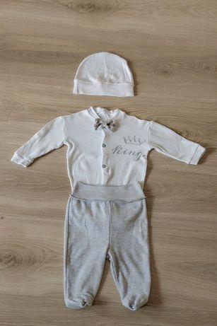 Комплект(костюм) на выписку или крестины на мальчика 56р