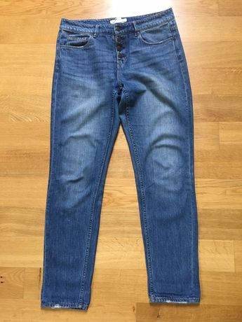 Spodnie typu boyfriend, rozmiar 29, H&M