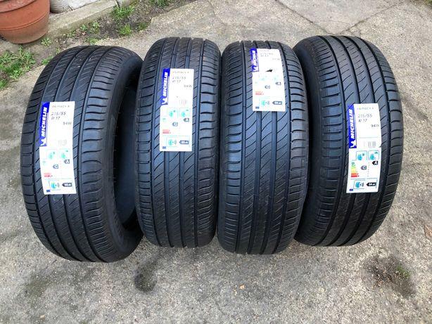 Nowe opony Michelin Primacy 4 215/55 R17 94W