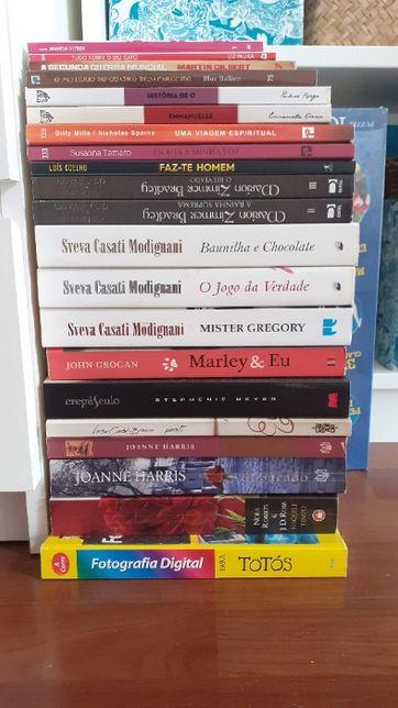 Livros Variados - Sveva, Crepúsculo, As Brumas de Avalon...