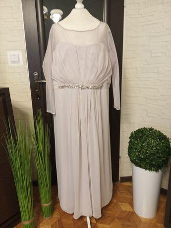 Długa, balowa suknia m-ki Joanna Hope, r.56/58