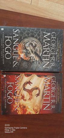Livro Sangue & Fogo 1 e 2