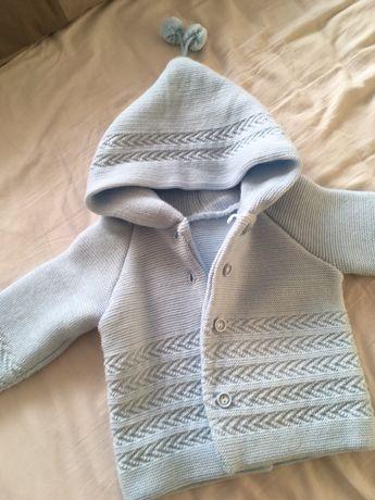 Sweterek niebieski dla dziecka