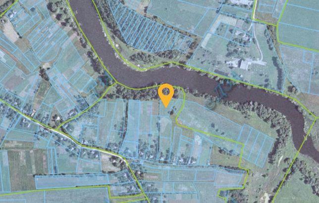 Продам участок возле речки в с. Дешки (110км от Киева)