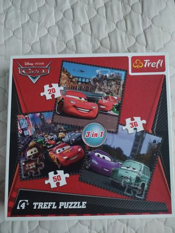 Puzzle cars  3w1