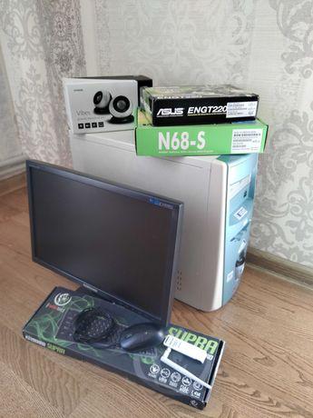 Компьютер ПК PC монитор для офиса игр работы AMD GeForce SSD HDD WiFi