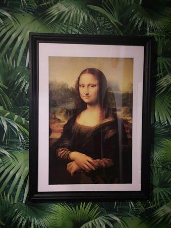 Rama czarna Ikea obraz Mona Lisa Plakat