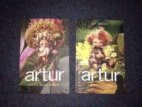 Artur i minimki 2 tomy