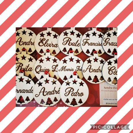 Bolas de Natal personalizadas