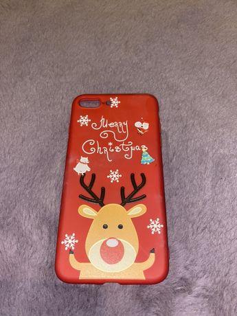 świąteczne etui case na telefon iphone 7 plus