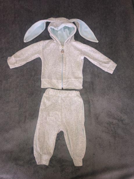 Спортивный костюм зайка 3-6м